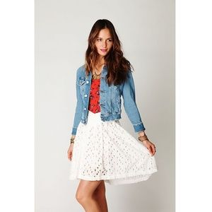 Free People | New Romantics eyelet skirt